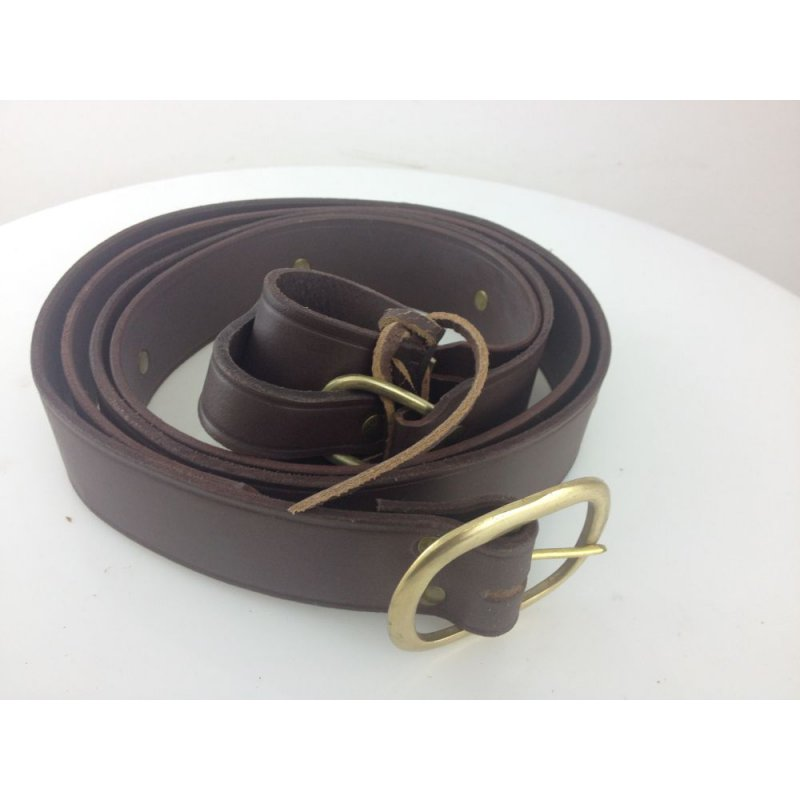 Double Wrap Belt brown M Big Picture-1