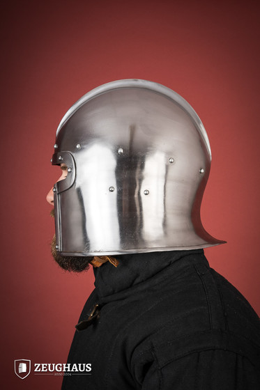 Barbuta Helm Typ 2 (1,6 mm), poliert