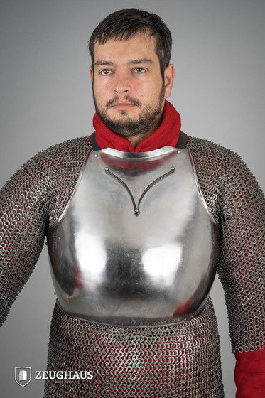 Breast plate 14 C., polished 2XL/3XL (116-126 cm)