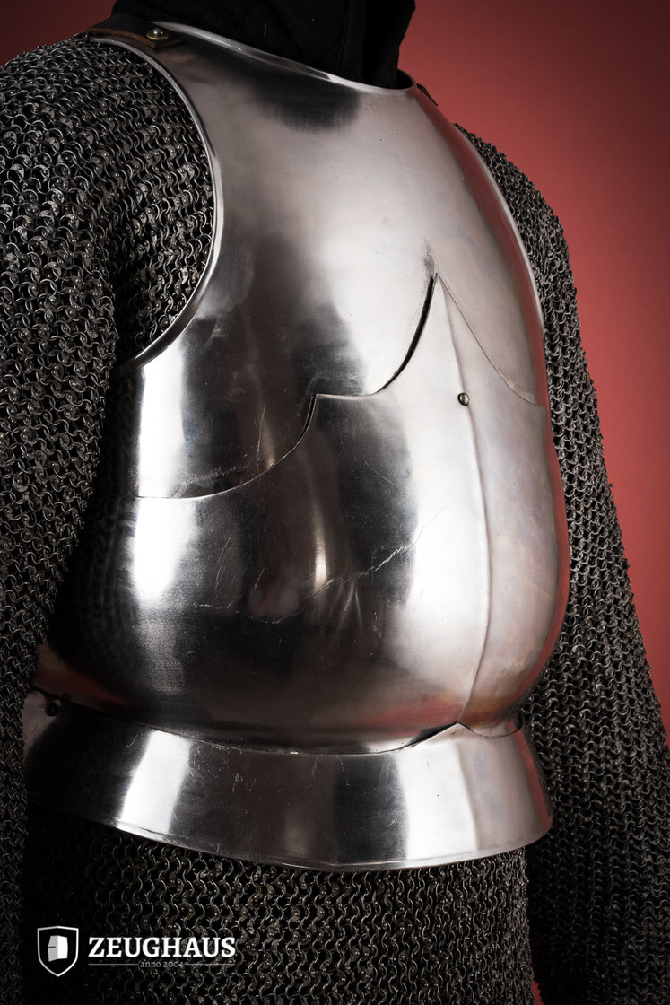 breast plate 15 C. style, polished Big Picture-1