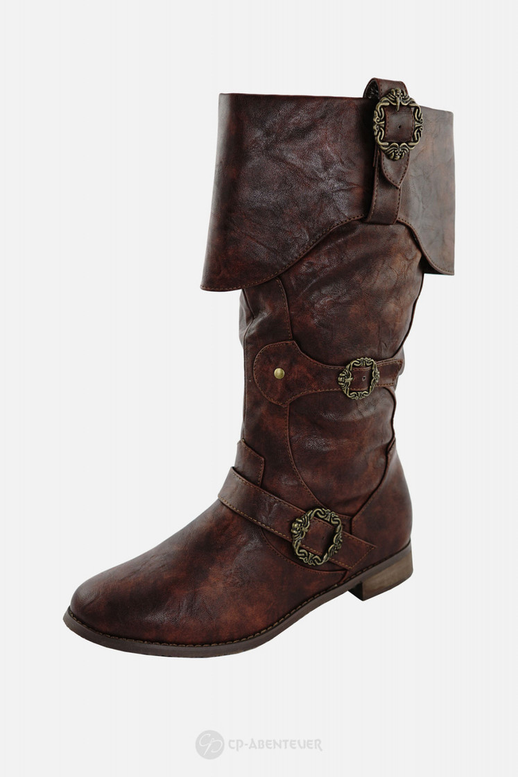 Piratenstiefel 2.0 Braun Big Picture-0