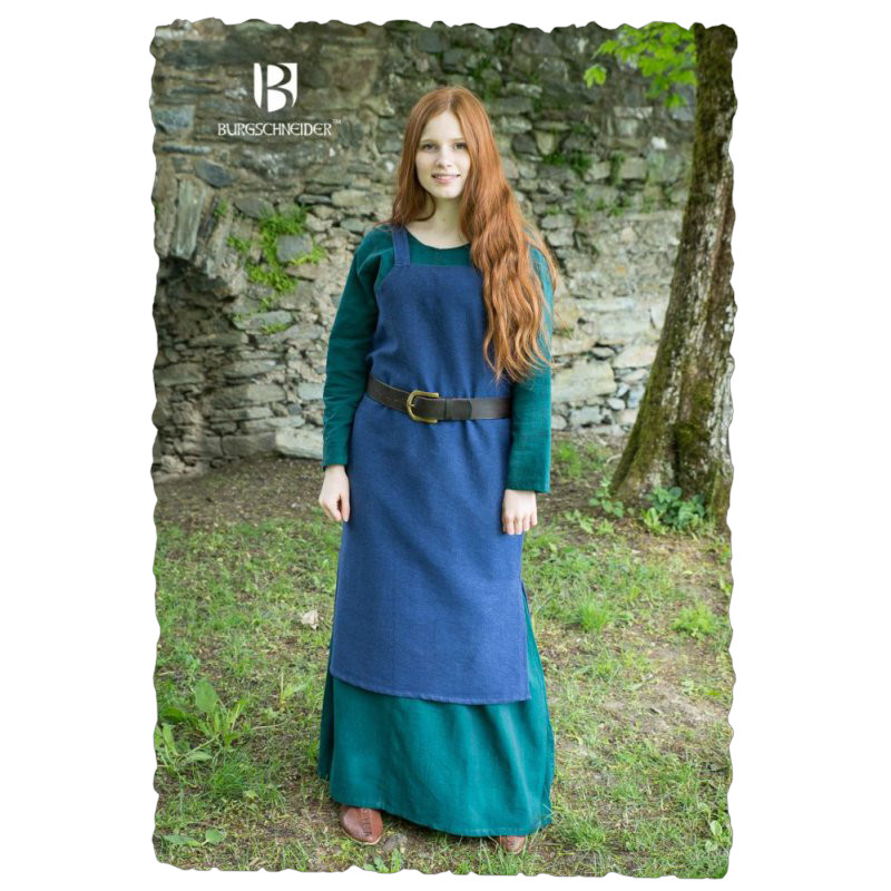 Trägerkleid Frida - Blau XXL Big Picture-0