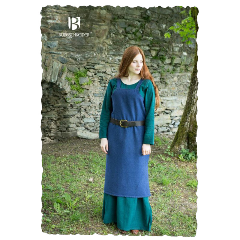 Trägerkleid Frida - Blau XXL Big Picture-1