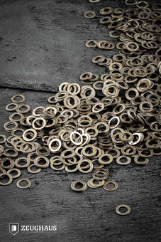 Loose Rings 9mm ID, FLAT RINGS Solide, oil finish