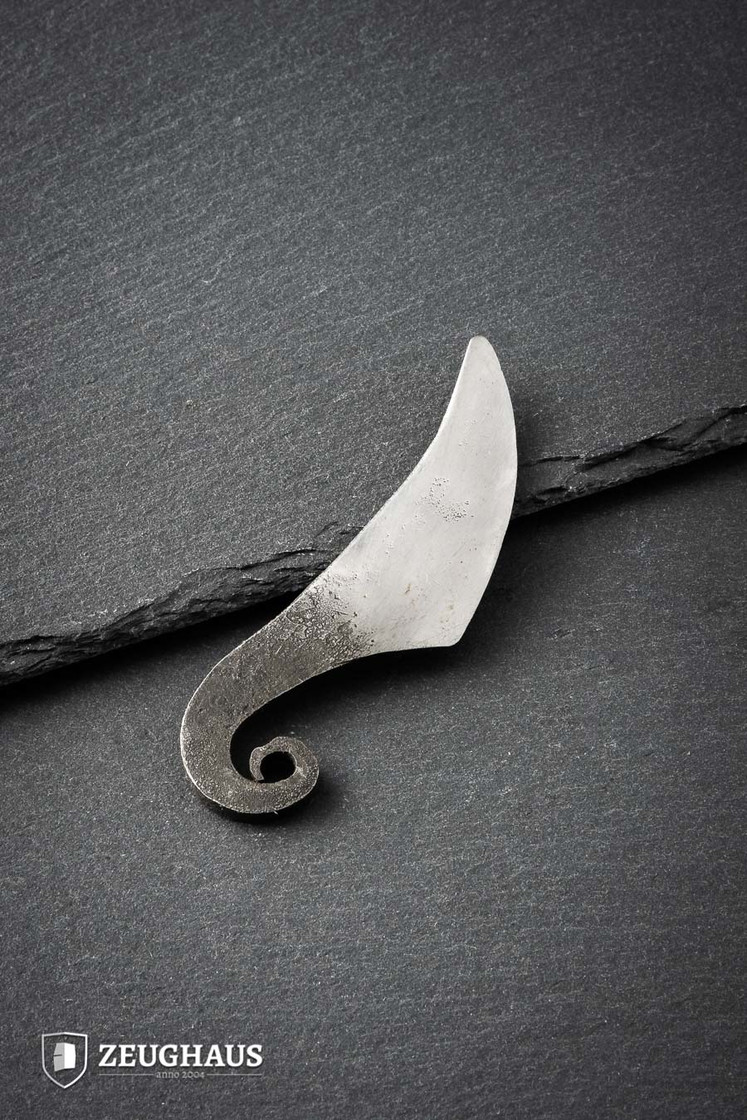 Viking Neck Knife Iron Hand Forged Type 1 Big Picture-0