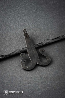Hand Forged Belt Hook, iron