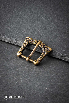 Brass Viking Buckle