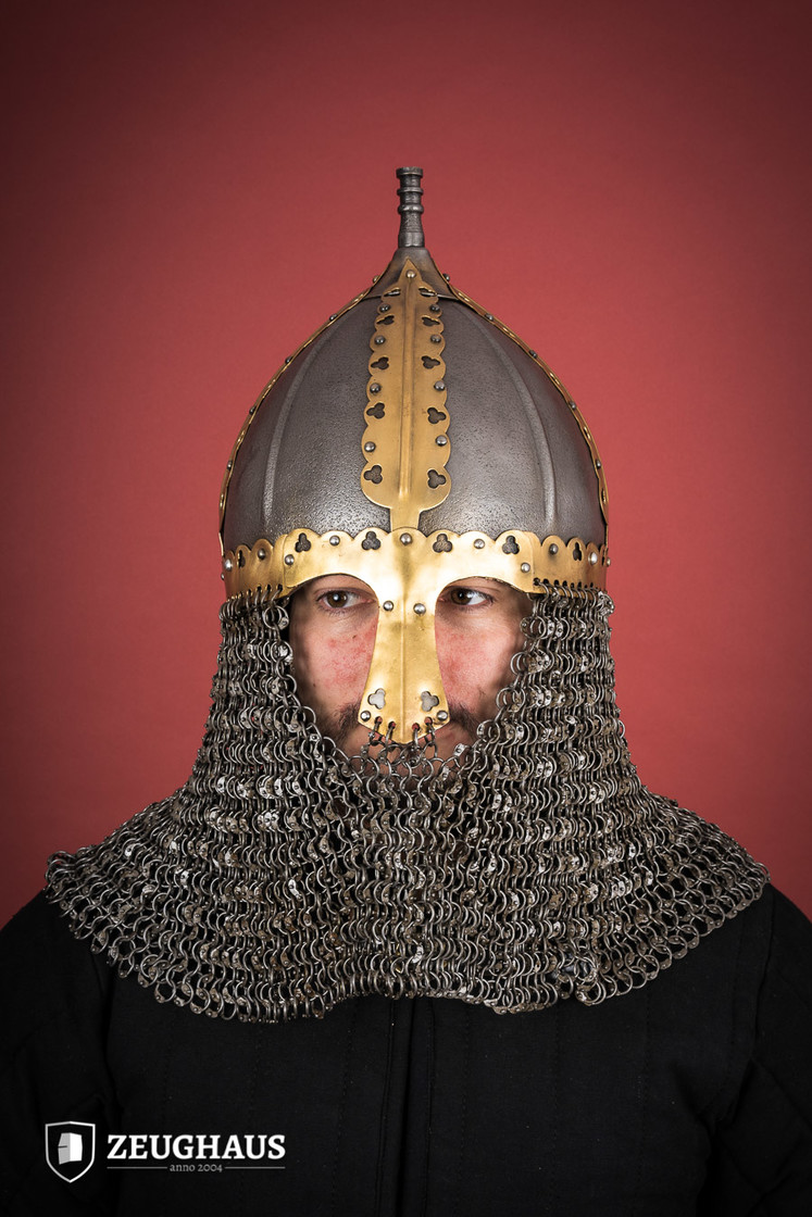 rus helmet with camail ancient look Big Picture-0