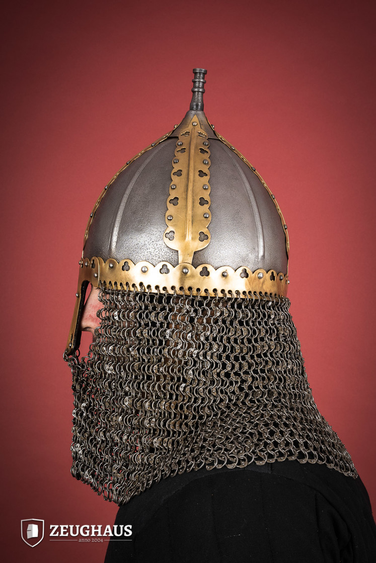 rus helmet with camail ancient look Big Picture-3