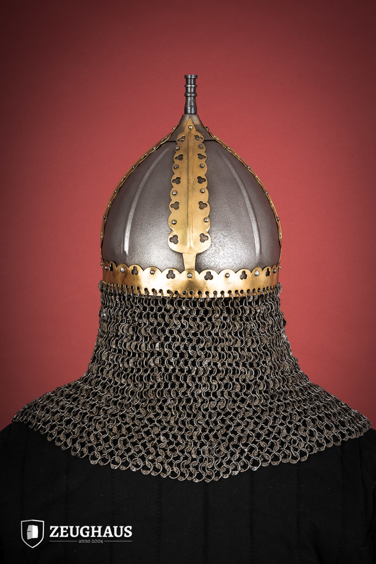 rus helmet with camail ancient look Big Picture-4