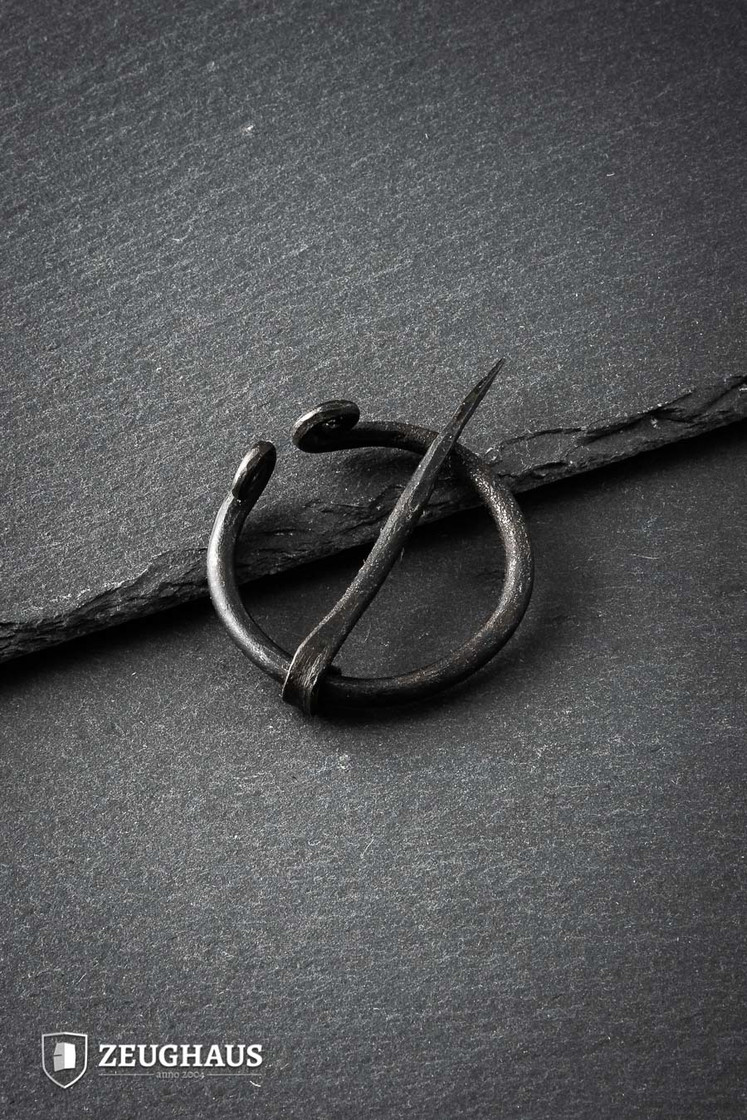 Hand-forged Viking Penannular Brooch Big Picture-0