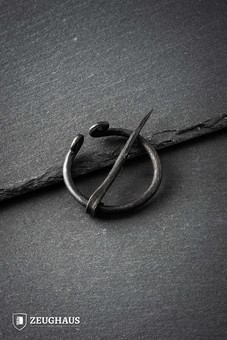 Hand-forged Viking Penannular Brooch