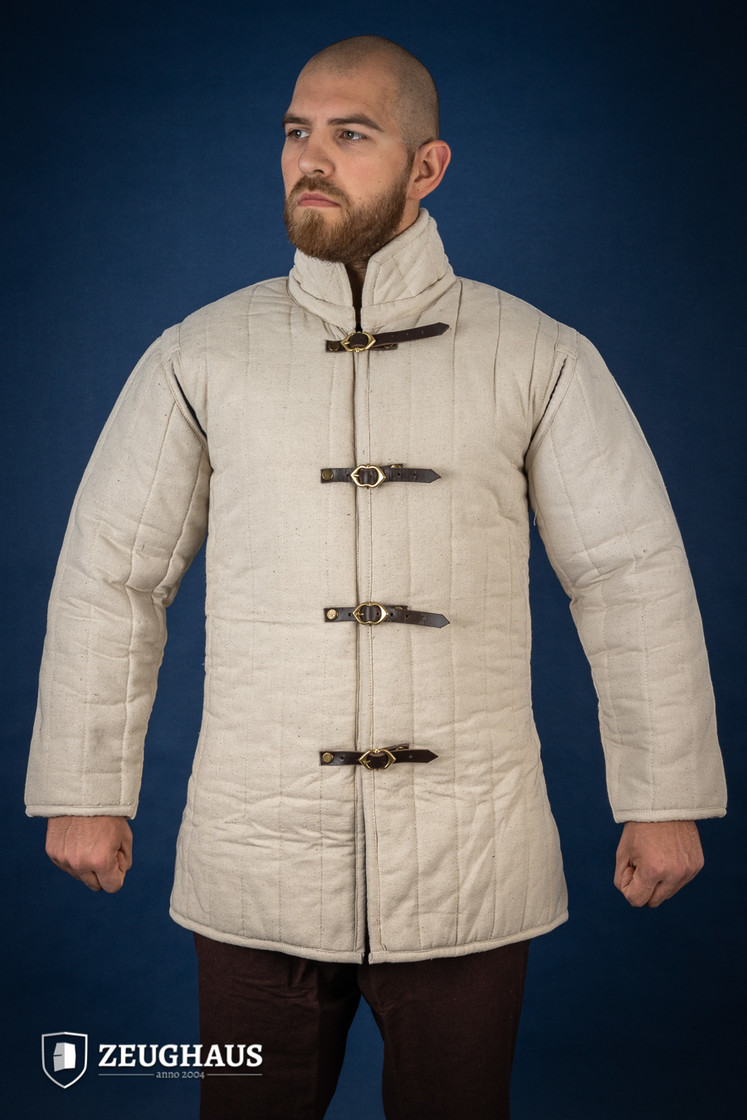 gambeson type 4, ecru Big Picture-1