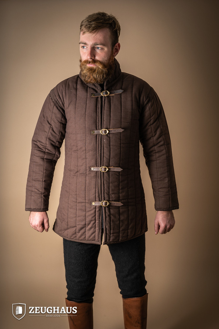 gambeson type 4, brown S Big Picture-1