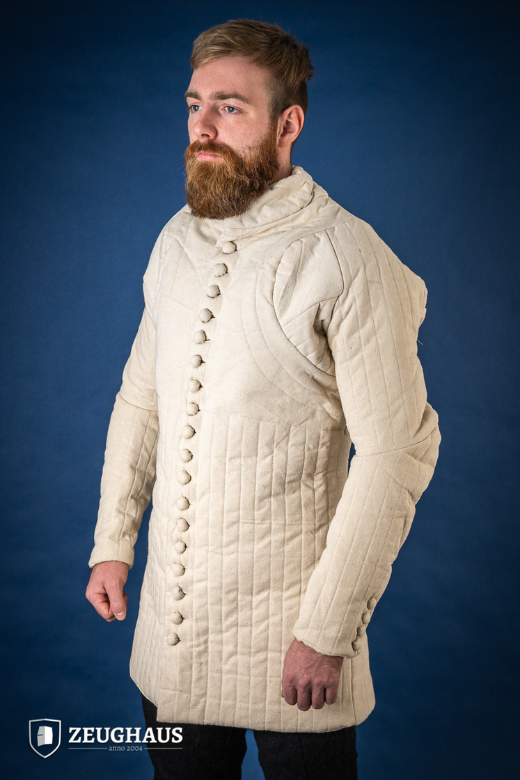 Gambeson Typ 6 (14 Jh. Stil), natur Big Picture-4