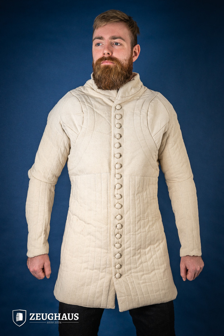 Gambeson Typ 6 (14 Jh. Stil), natur XXL Big Picture-0