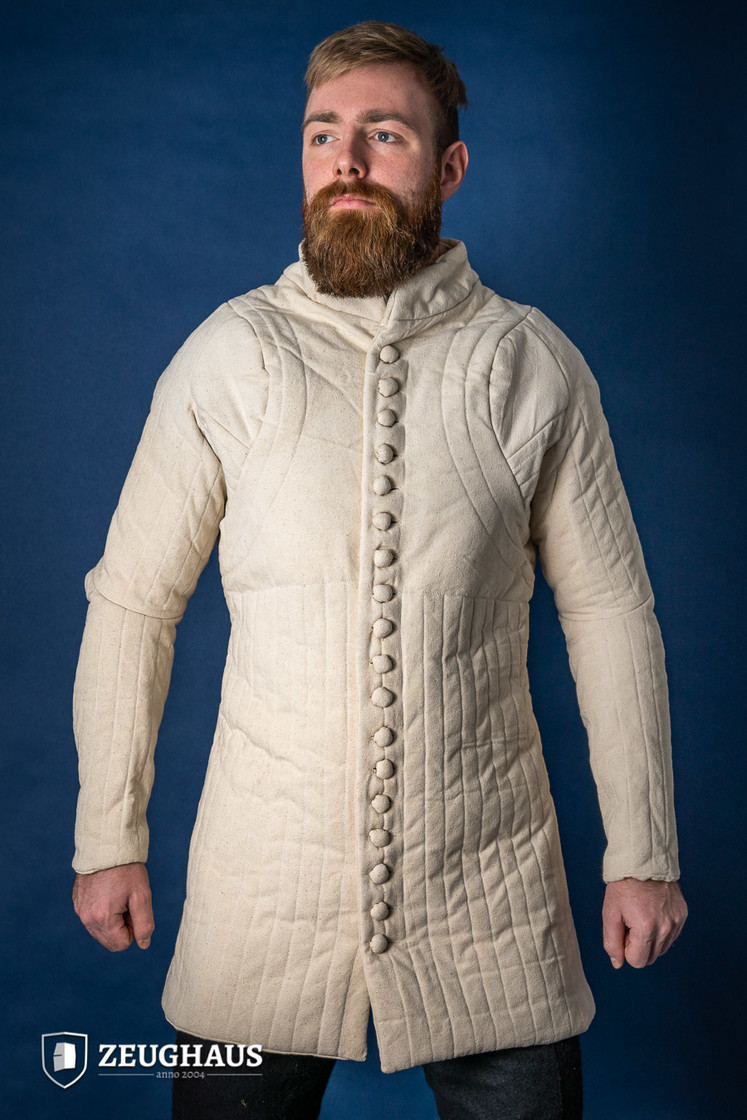 Gambeson Typ 6 (14 Jh. Stil), natur XXL Big Picture-1