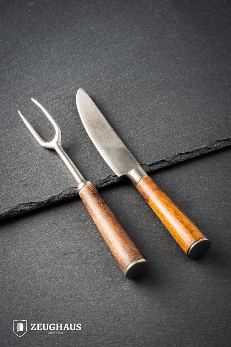 Hand Forged Fork, Knife Big Picture-0