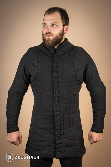 gambeson type 6 (14 C. style), black