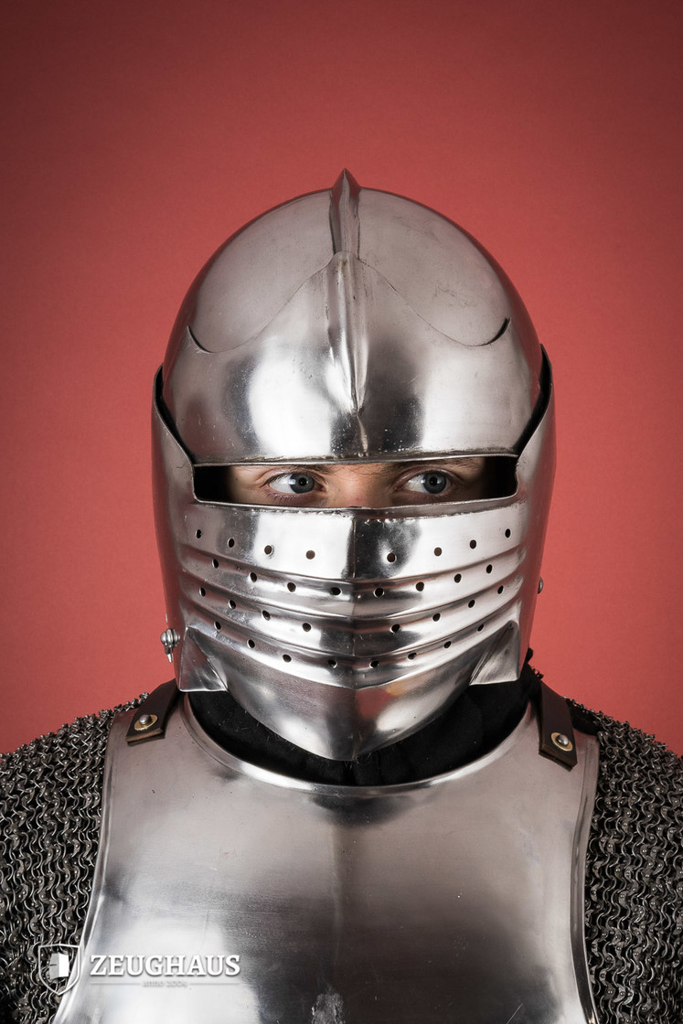 Italian Bellows Face Sallet Big Picture-0