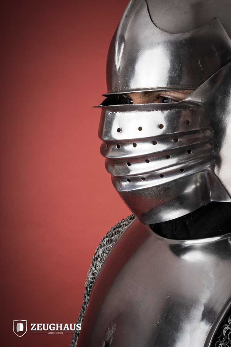 Italian Bellows Face Sallet Big Picture-1