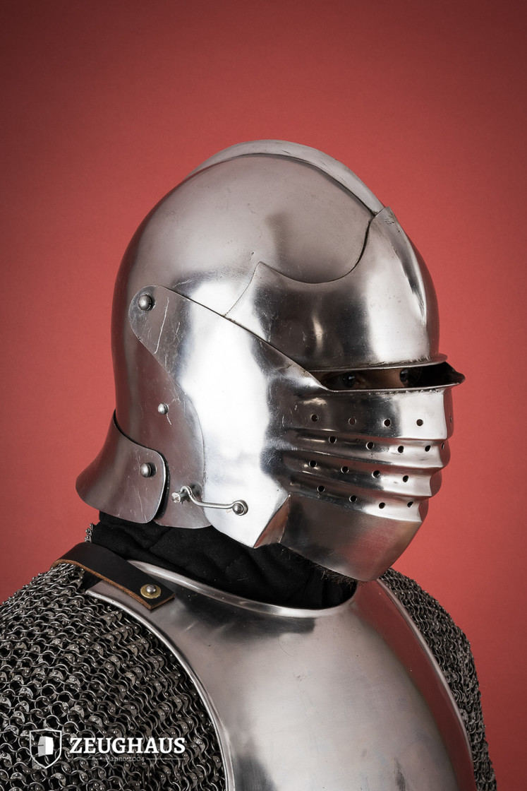 Italian Bellows Face Sallet Big Picture-2
