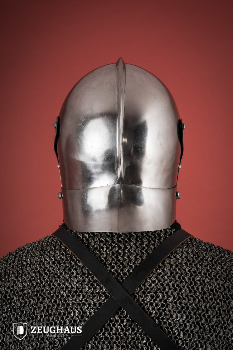 Italian Bellows Face Sallet Big Picture-4