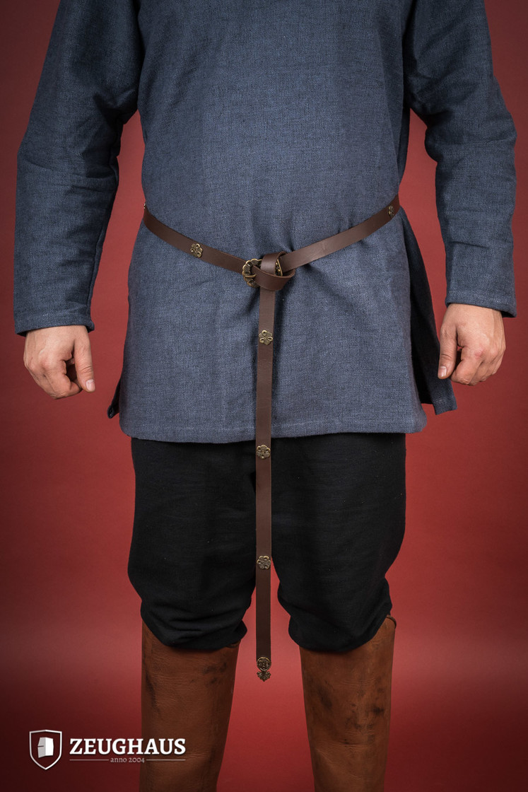 Leather Viking Long Belt Big Picture-0