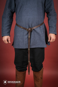 Leather Viking Long Belt