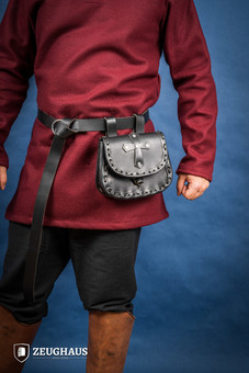 Leather The Paladin Pouch