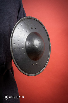 Handforged Buckler Shield