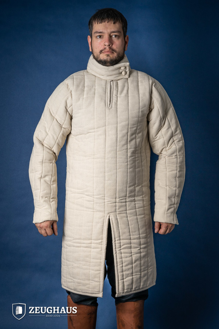 Gambeson Typ 8 (13 Jh. Stil), natur Big Picture-2