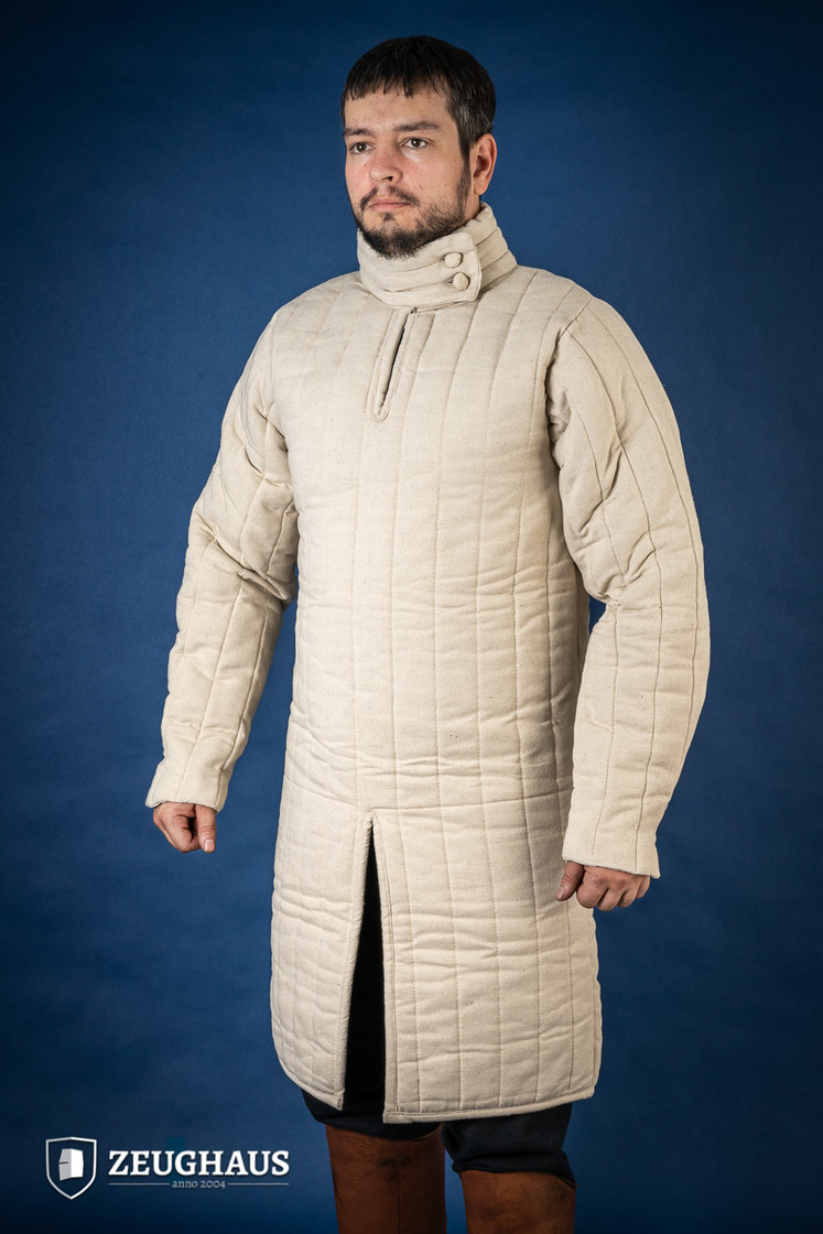 Gambeson Typ 8 (13 Jh. Stil), natur Big Picture-4