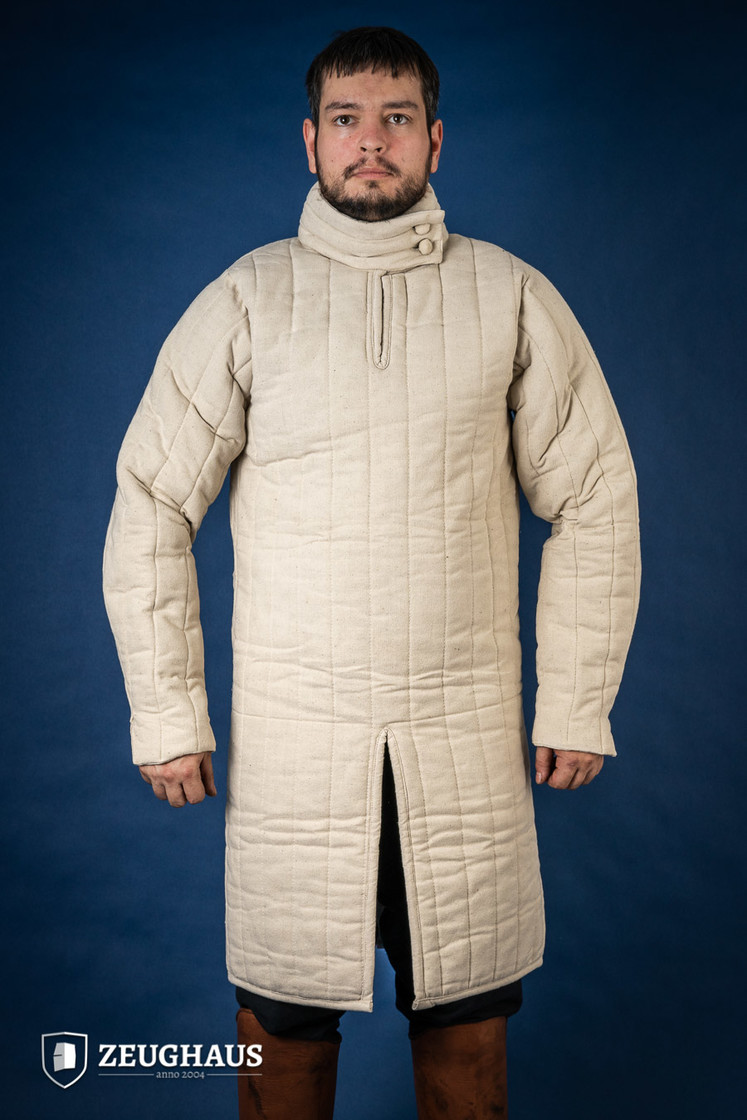 Gambeson Typ 8 (13 Jh. Stil), natur L Big Picture-1