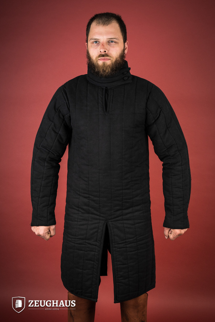 gambeson type 8 (13 C. style), black Big Picture-0