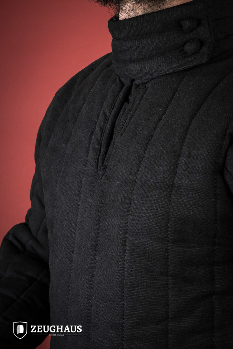 gambeson type 8 (13 C. style), black Big Picture-1