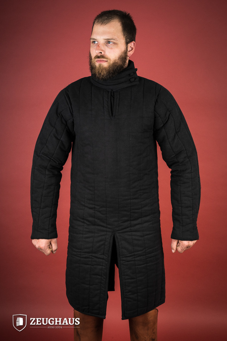 gambeson type 8 (13 C. style), black Big Picture-2