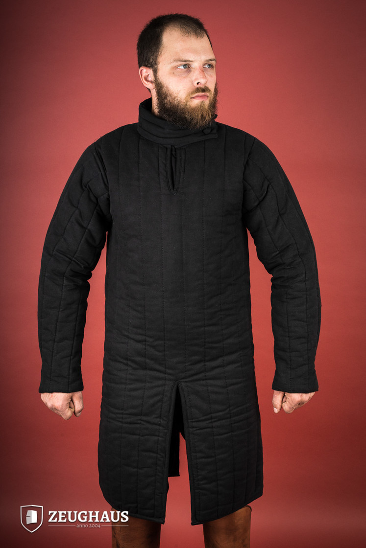 gambeson type 8 (13 C. style), black Big Picture-3