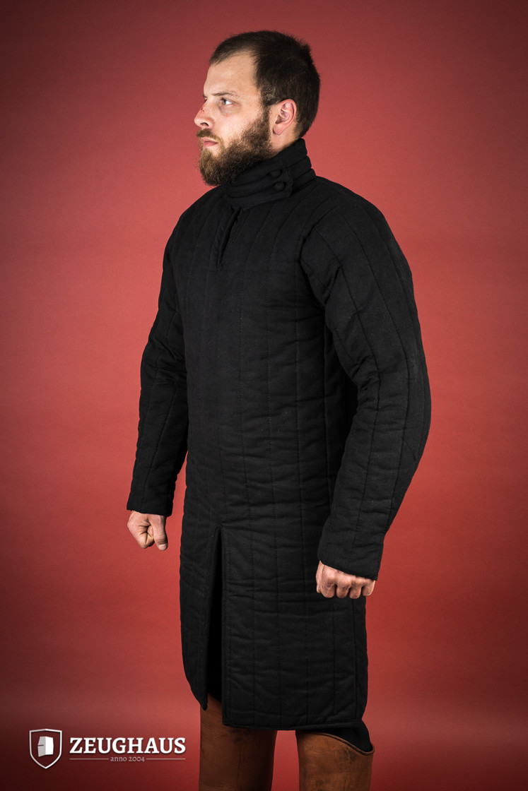 gambeson type 8 (13 C. style), black Big Picture-4