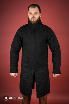 gambeson type 8 (13 C. style), black