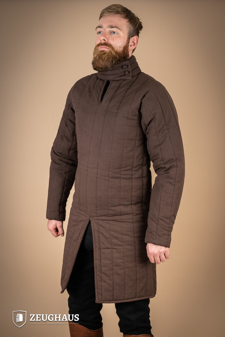 gambeson type 8 (13 C. style), brown Big Picture-2