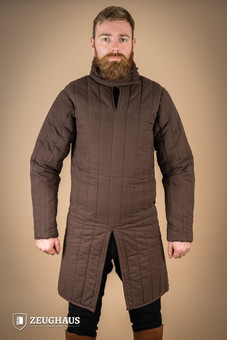gambeson type 8 (13 C. style), brown L