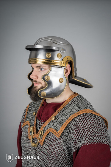 Roman Trooper Helmet  (1,6 mm), polished