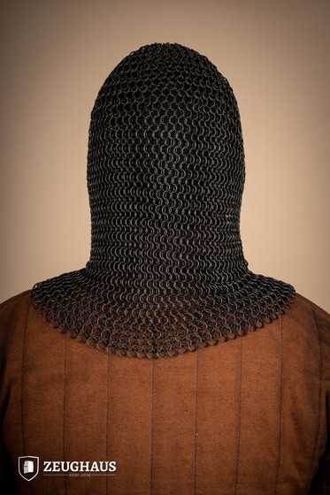 V Mail Hood 10mm ID, ROUND RINGS, blackened