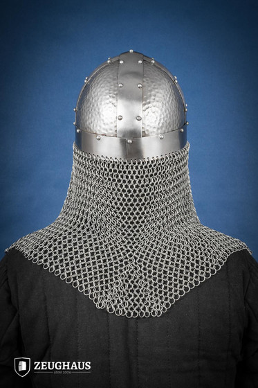 Viking Helmet Type 2  with aventail, polished