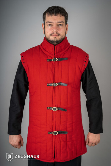 gambeson type 1 (long+short sleeves), red