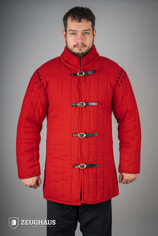 Gambeson Typ 1, rot (lang&halb)