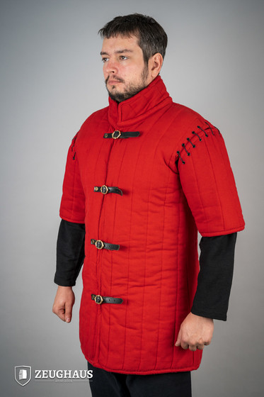 Gambeson Typ 1, rot (lang&halb) L