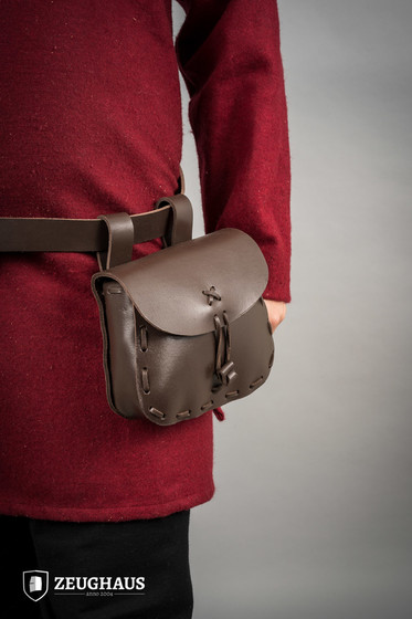 Leather Pouch Type 1, brown