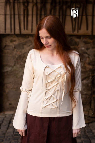 Bluse Ely - Natur S